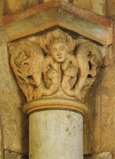 Mother Earth, chapiter of the church of  Maria Laach, 12th century A.D.